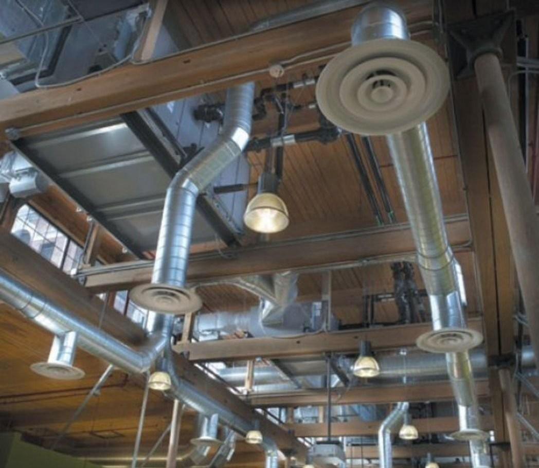 Монтаж промышленной вентиляции оказываем услуги