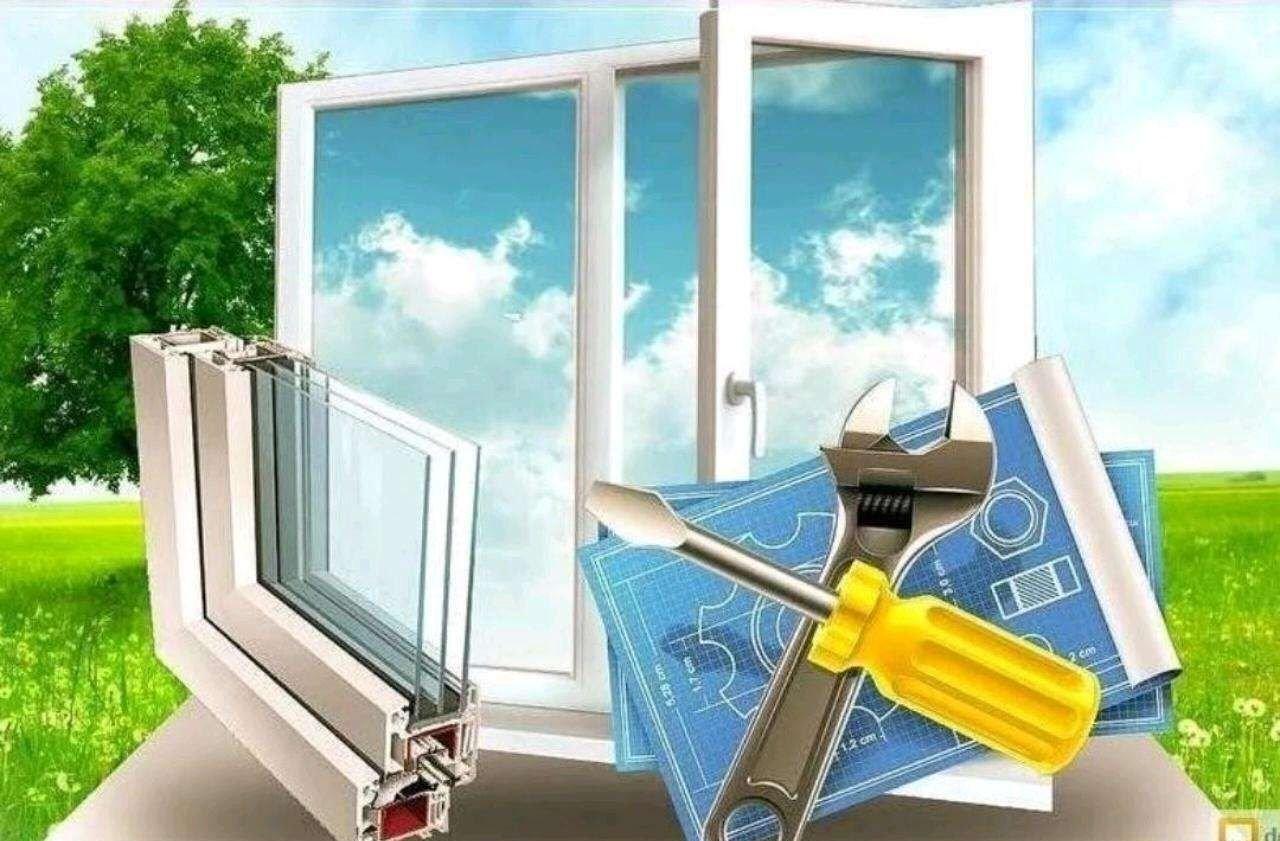 Монтаж, ремонт и обслуживание пластиковых окон оказываем услуги